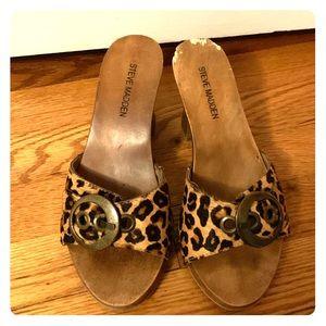 Steve Madden Lavita Leopard Heel
